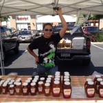 Honey Vendor at Elk Grove Farmers' Market