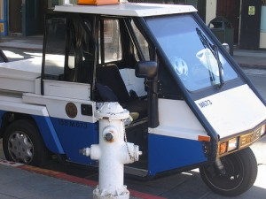parking enforcement vehicle
