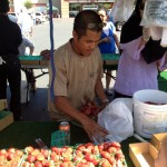 Strawberry Vendor at Elk Grove Farmers' Market