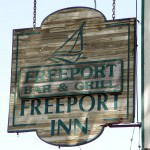 Freeport Bar & Grill sign